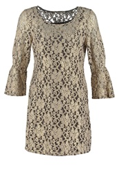 Cream Camilla Cocktail Dress Party Dress Gold