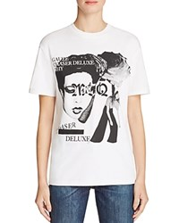 Mcq By Alexander Mcqueen Classic Graphic Tee Optic White