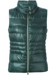 Herno Padded Gilet Green