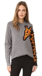 Paul Smith Giraffe Sweater Grey