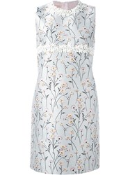 Giambattista Valli Printed Mini Dress Grey