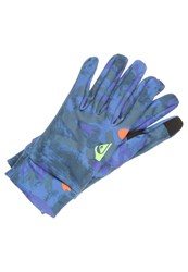Quiksilver City Liner Gloves Blue