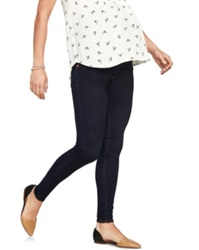 A Pea In The Pod Luxe Essentials Maternity Skinny Jeans Dark Wash Rinse