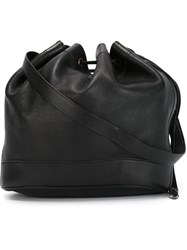 Hermes Vintage Bucket Bag Black