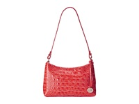 Brahmin Anytime Mini Pimento Shoulder Handbags Red