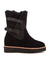 Australia Luxe Collective Bushmill Boot With Sheep Shearling Black