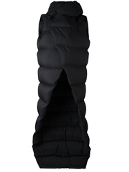 Rick Owens Padded Long Coat Black