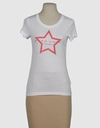 Star Chic Easy Couture Short Sleeve T Shirts Light Grey