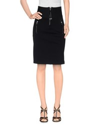 High Tech Skirts Knee Length Skirts Women Black