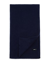 Vince Boiled Cashmere Scarf Royal Navy