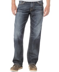 Silver Jeans Loose Fit Straight Leg Gordie Jeans Indigo