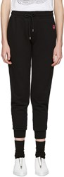 Mcq By Alexander Mcqueen Black Slim Lounge Pants