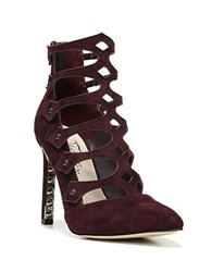Fergie Holly Suede Pumps Burgundy