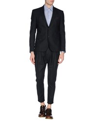 Hotel Suits And Jackets Suits Men Steel Grey