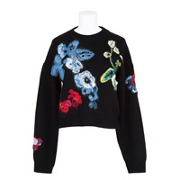 Anthony Vaccarello Jumper Black