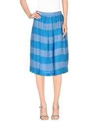 Burberry Brit Skirts Knee Length Skirts Women Azure