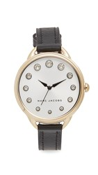 Marc Jacobs Betty Watch Gold Silvery White Black
