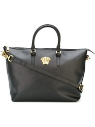 Versace Medium Medusa Tote Bag Black