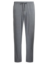 Derek Rose Marlowe Jersey Trousers Charcoal