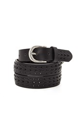 Forever 21 Faux Leather Braided Belt