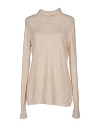 Ballantyne Knitwear Turtlenecks Women Beige