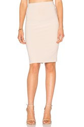 Alice Olivia Terri Pencil Skirt Beige