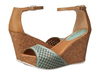 Kenneth Cole Reaction Sole Ness Turquoise Women's Wedge Shoes Blue