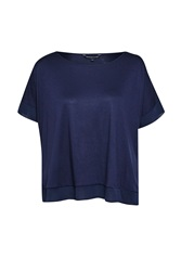 French Connection Plain French Top Navy