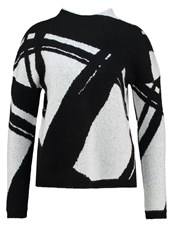 Kiomi Jumper Black White