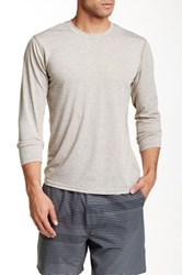 Brooks Distance Long Sleeve Tee Gray