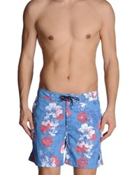 Woolrich Swimming Trunks Azure