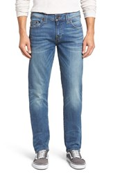True Religion Men's Big And Tall Brand Jeans Geno Straight Leg Jeans Cvim Flagstone