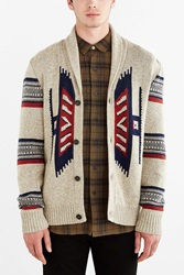 Koto Kikou Engineered Shawl Cardigan Cream