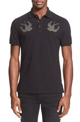 Men's Just Cavalli Studded Sparrow Polo