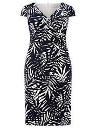 Windsmoor Palm Leaf Printed Dress Multi Coloured
