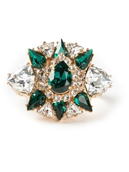 Shourouk 'Galaxy' Ring Green