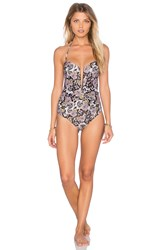 Beach Riot X Stone Cold Fox The Coqui One Piece Black
