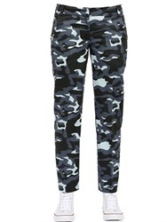 Anna K Camo Printed Techno Pants