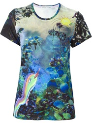 Tsumori Chisato 'Deep Forest' Print T Shirt Multicolour