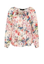 Hallhuber Floral Print Tunic Multi Coloured