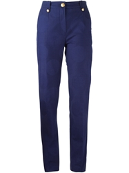 Kenzo 'Dots And Logo' Trousers Blue