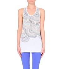 Sweaty Betty Drishti Yoga Jersey Vest Top White