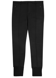 Dolce And Gabbana Black Wool Jogging Trousers