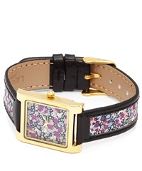 Flowers Of Liberty Pepper Liberty Print Leather Watch