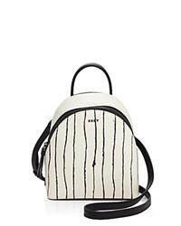 Dkny Stripe Mini Backpack Twine Stripe