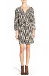 Women's Ace Delivery Print Henley Shirtdress Olive Apples