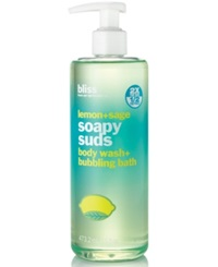 Bliss Lemon Sage Soapy Suds 16 Oz. No Color