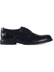 Officine Creative Perforated Derby Shoes
