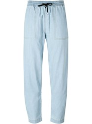 Love Moschino Straight Leg Jeans Blue