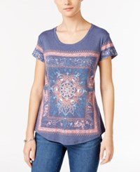 Styleandco. Style Co. Graphic T Shirt Only At Macy's Indigo